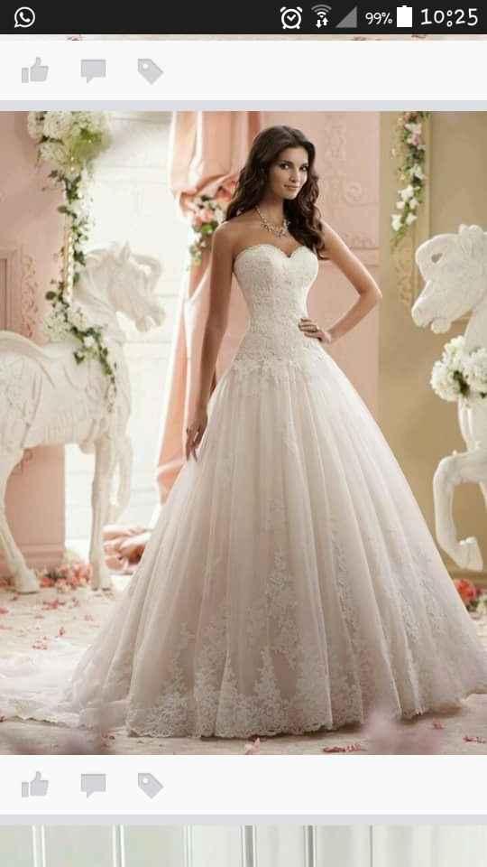 Spose del 2016 mi fate vedere le foto dei vostri abiti da sposa? - 1