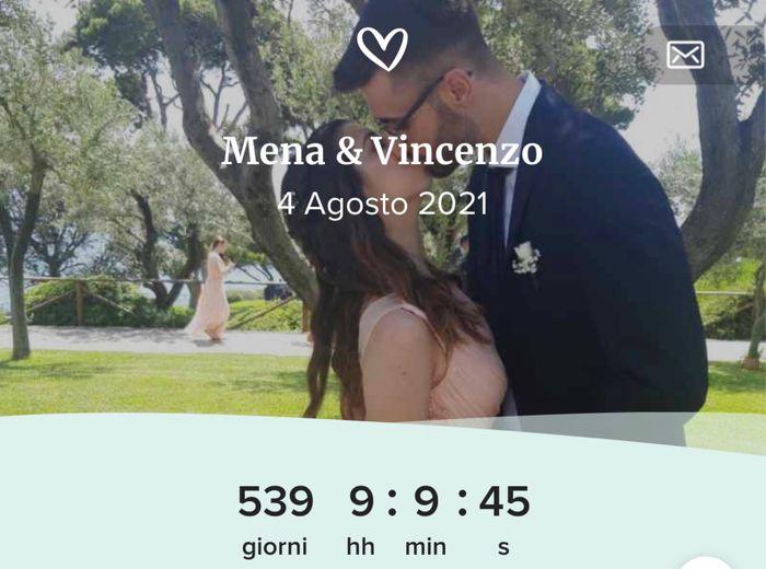 Quanti giorni mancano al vostro matrimonio???😍😍😍😍😍😍 1