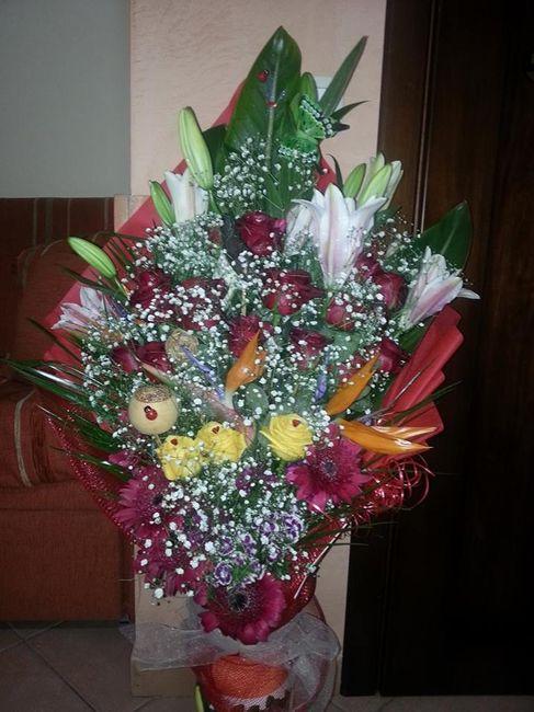 E il mio mazzo di fiori foto prima delle nozze for Progetta il mio mazzo