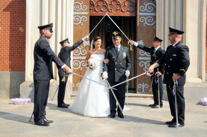 Matrimonio In Divisa Esercito : Fm nell arma picchetto pagina cerimonia nuziale