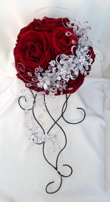 Bouquet Da Sposa Gioiello.Ecco A Voi Il Mio Bouquet Gioiello Pagina 26 Fai Da Te Forum