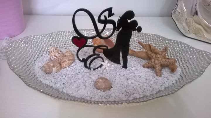 utilizzo cake topper dopo il matrimonio