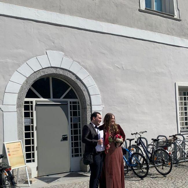 Finalmente sposati civilmente in Austria 😍 2