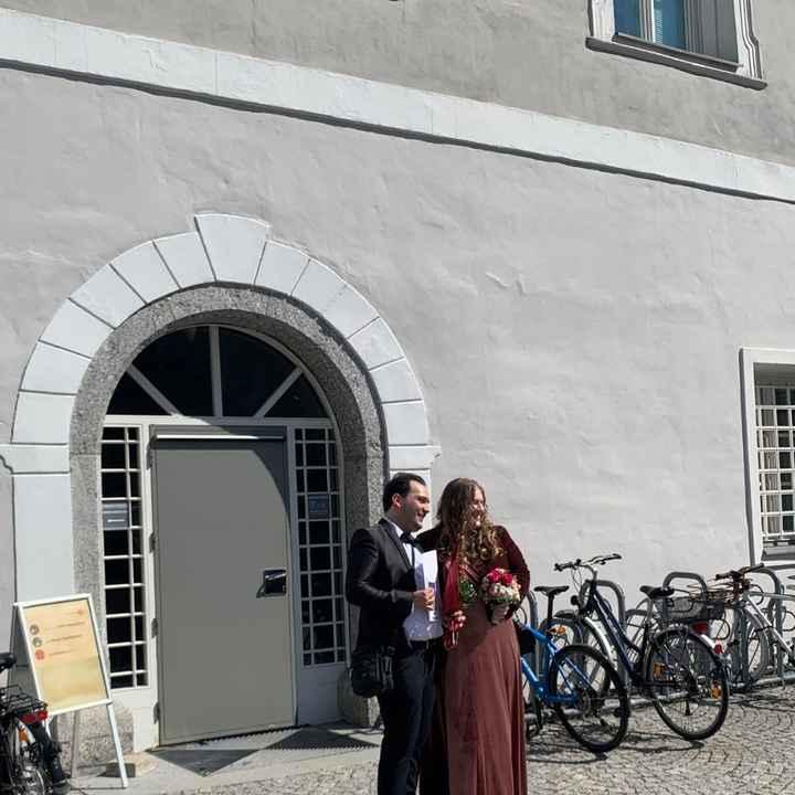 Finalmente sposati civilmente in Austria 😍 - 2