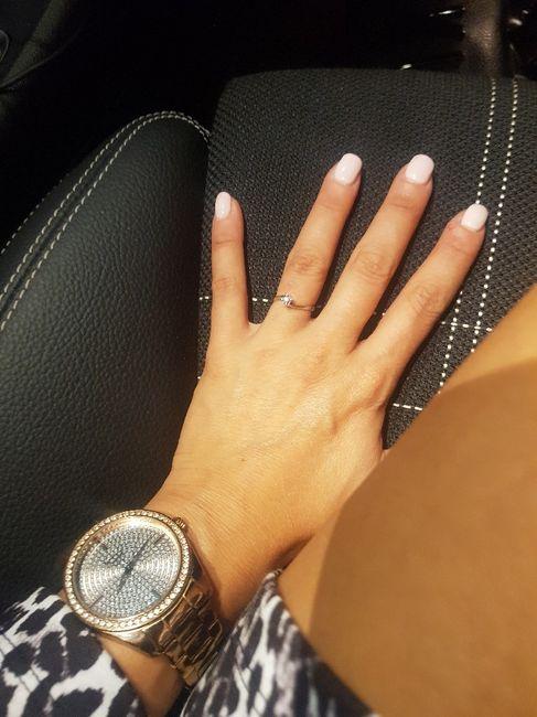 Che tipo di anello hai ricevuto alla proposta? 8