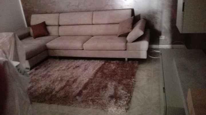 Il nostro divano del salone