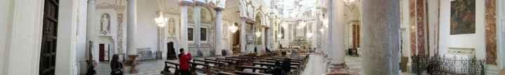 Trapani, Chiesa del Collegio dei Gesuiti (panoramica)