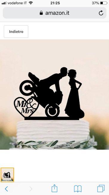Ragazze mi consigliare un cake topper? - 1
