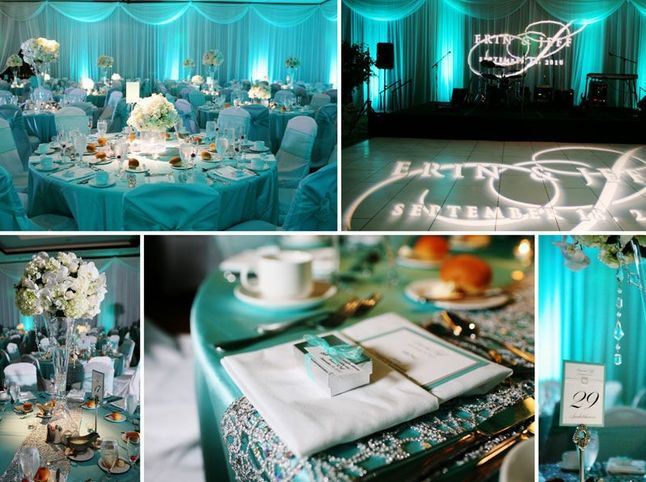 Matrimonio Colore Azzurro Tiffany : Colore conduttore del matrimonio organizzazione