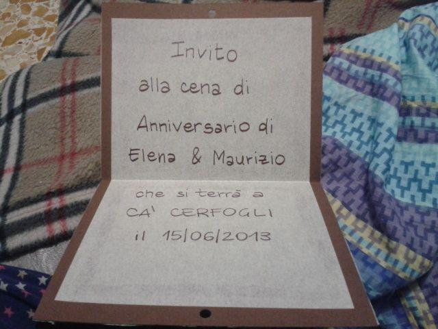 Top Il mio fai da teper anniversario miei genitori!!! - Fai da te  NI99