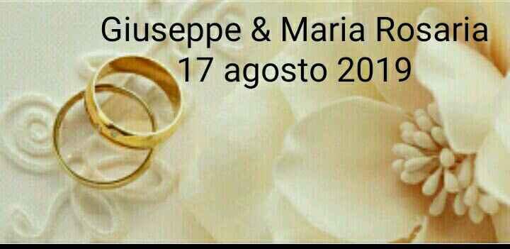 Sposi che celebreranno le nozze il 17 Agosto 2019 - Matera - 1