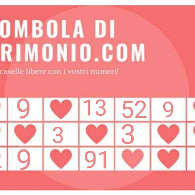 Condividi i tuoi numeri! 11