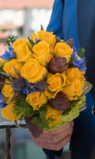 Bouquet di frutta e verdura - 1