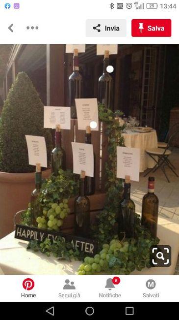 Matrimonio tema vino 15