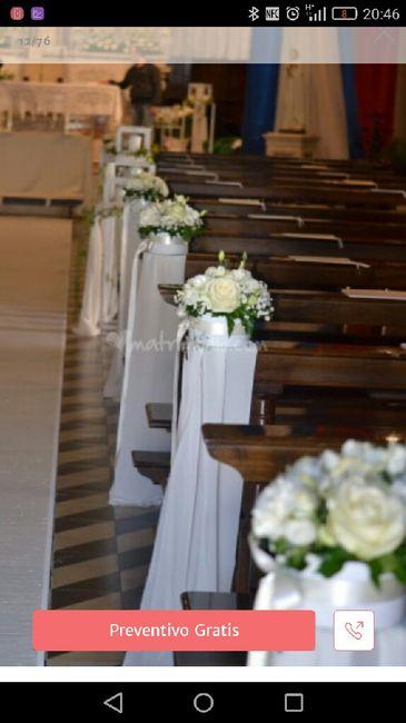 Elementi floreali chiesa 4