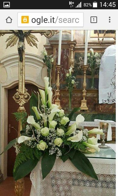 Elementi floreali chiesa 5