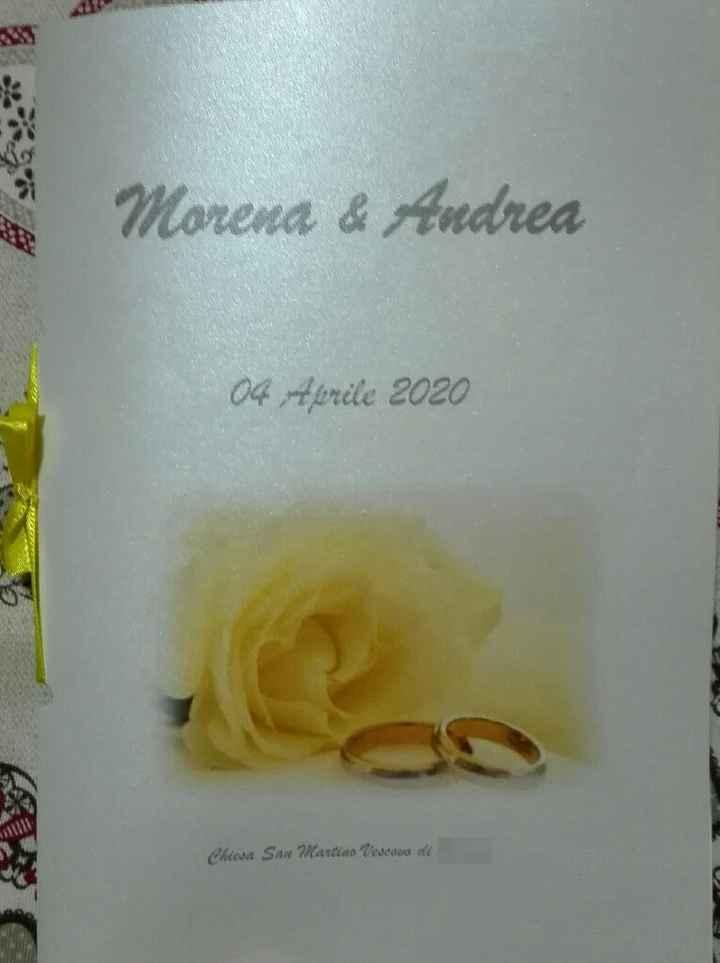 Spose di Brescia - stampa libretti messa - 1