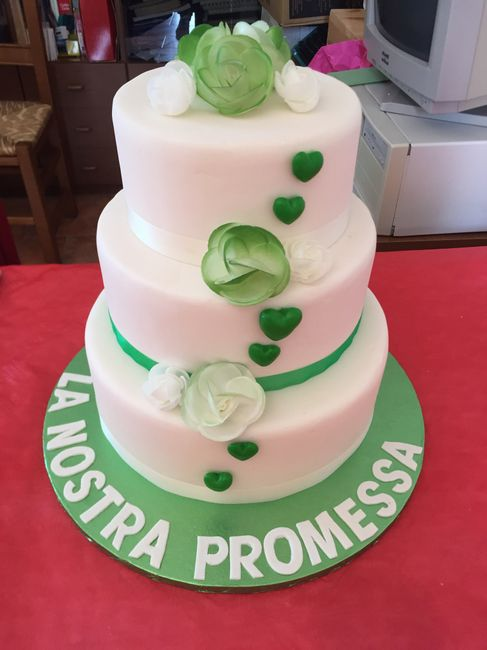 Aiuto... datemi un consiglio per la torta della promessa.. - 2
