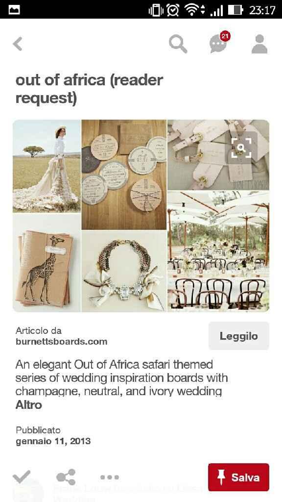 Tema nozze africa e safari - 10