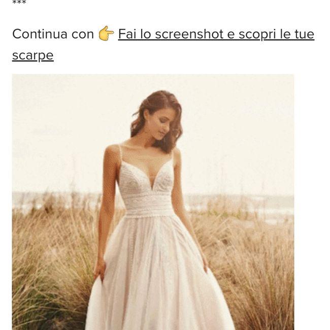 Fai lo screenshot e scopri il tuo abito da sposa 2