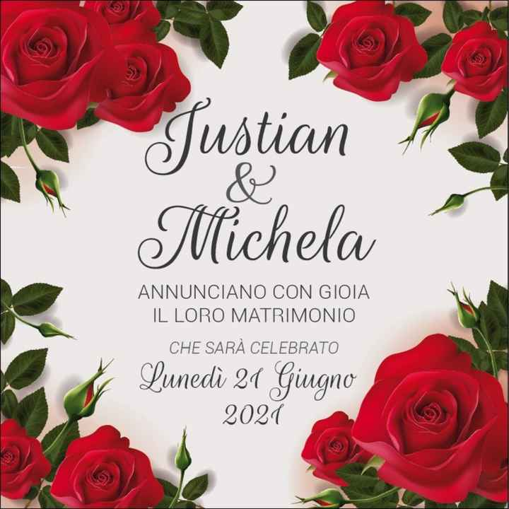 Save the date mandati oggi.. - 1