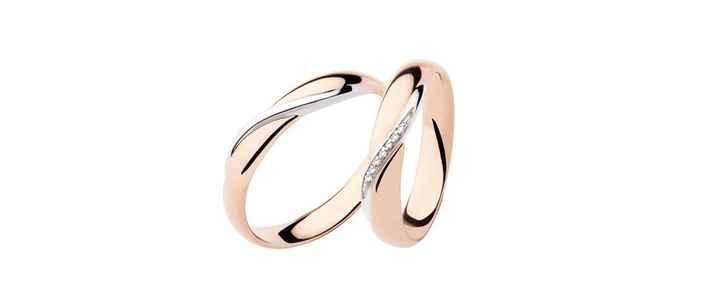 Oro rosa e bianco
