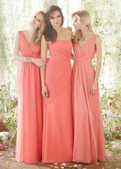 Colore vestito damigelle 2