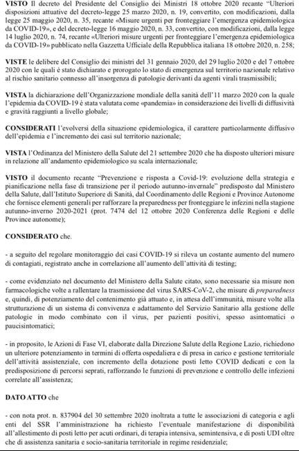 Coprifuoco nel Lazio 😔😔😔😔 per un mese 1