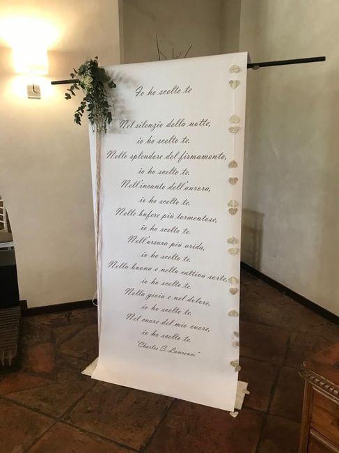Letture degli sposi nel rito civile, chiedo consiglio 1