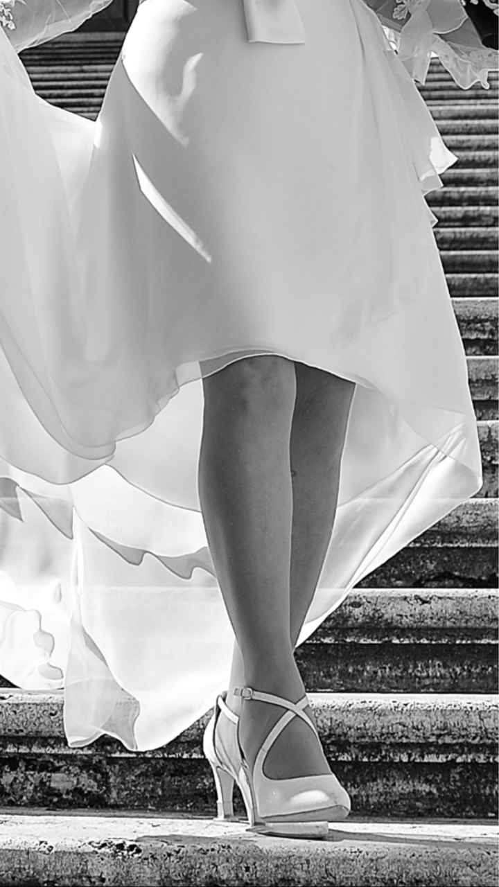 Foto scarpe indossate - 2