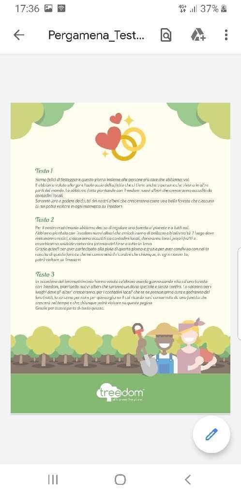Matrimonio eco/green - 1