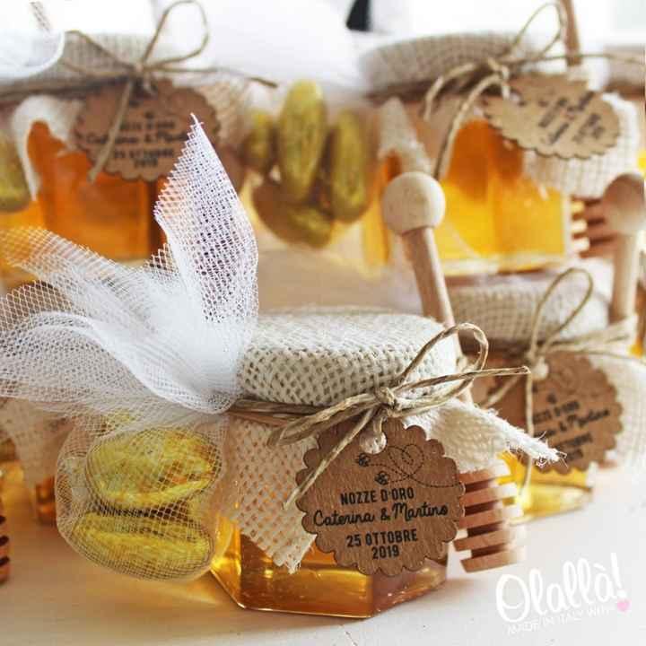 bomboniere vasetti di miele - 2