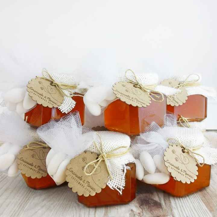 bomboniere vasetti di miele - 4