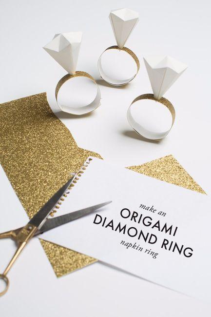 Matrimonio Tema Diamanti : Gnaposto tema diamante help fai da te forum