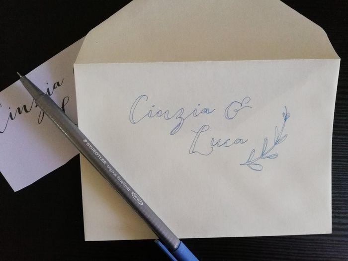 Partecipazioni Matrimonio Nome Invitati.Tutorial Scivere I Nomi Sulle Buste Con Bella Grafia Pagina 2