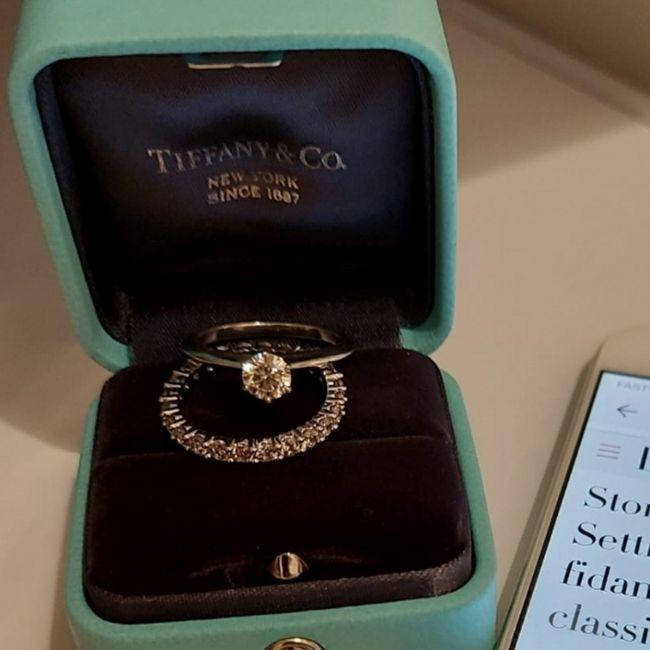 Il mio anello di fidanzamento 1
