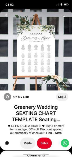 Tableau de mariage 11