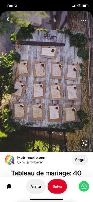 Tableau de mariage 12