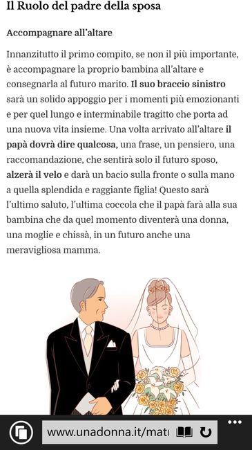 Molto Dubbio!!! ma chi alza il velo della sposa??? e il padre come  PI74