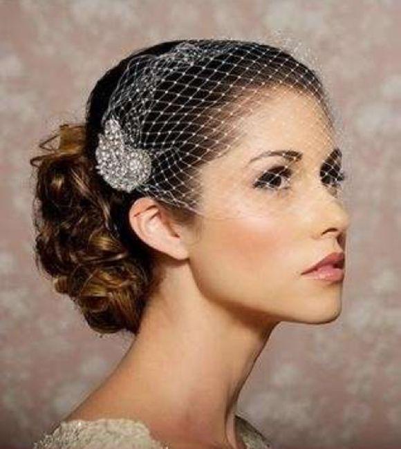 Veletta e acconciatura - Moda nozze - Forum Matrimonio.com 7d551bed5643