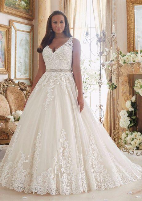 Abiti per spose curvy! - Moda nozze - Forum Matrimonio.com 256f2cfc7f9