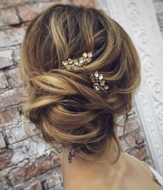 Acconciatura per sposa con pochi capelli e sottili ...