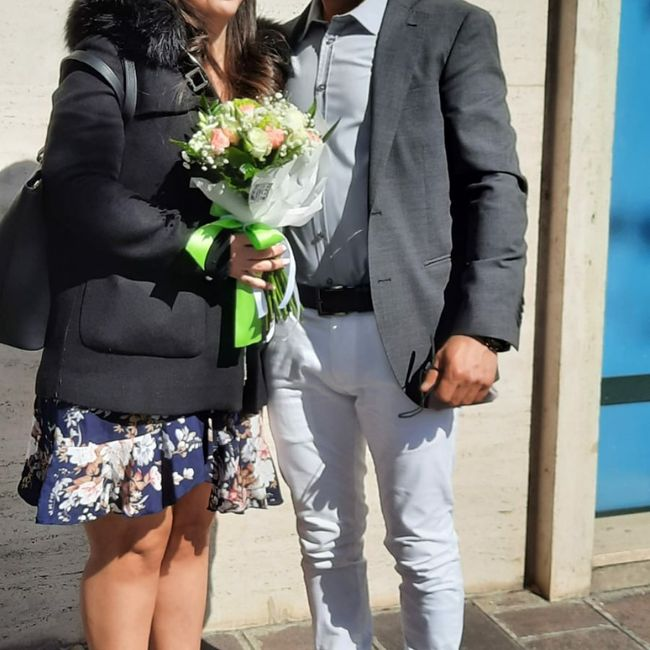 ☘️ Mazzolino di fiori per le Promesse di Matrimonio 💐 2