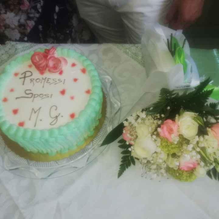 ☘️ Mazzolino di fiori per le Promesse di Matrimonio 💐 - 1