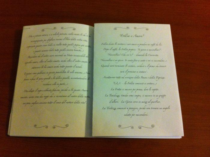 Matrimonio Rito Romano Libretto : Interno libretto rito foto