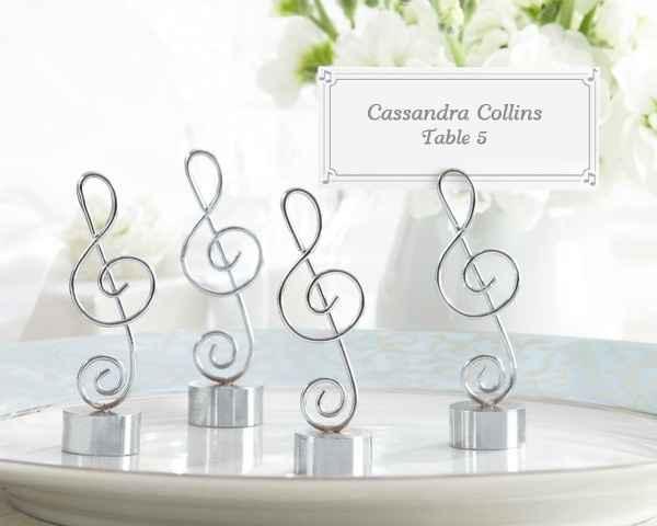 segnaposto chiave di violino