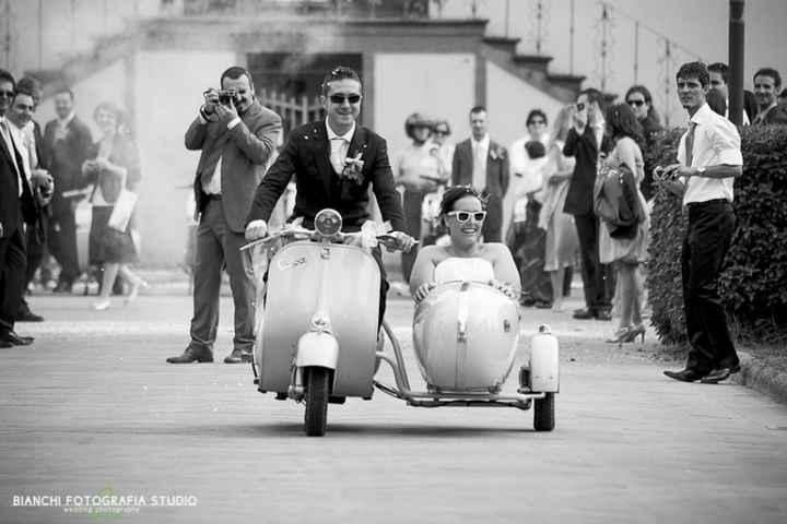 Sposi a motore :P