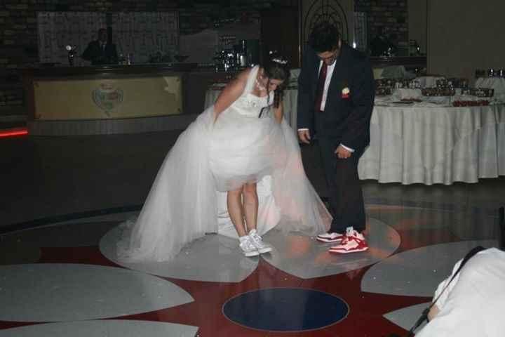 cambio scarpe