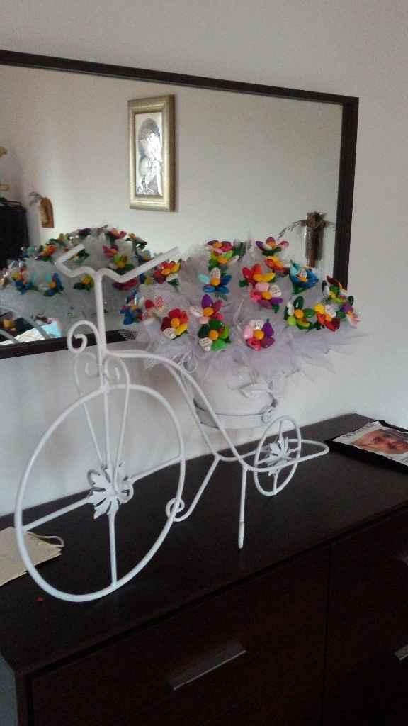 Bici porta bomboniere