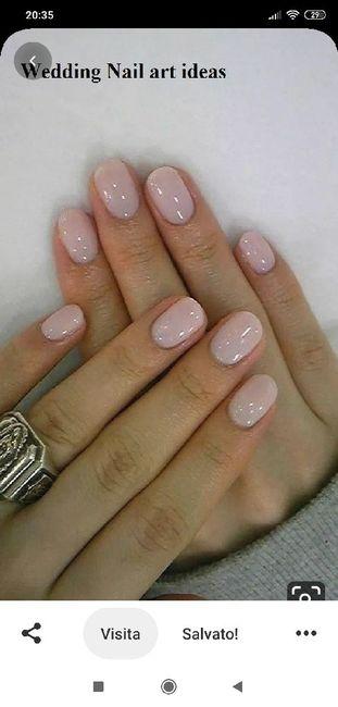 Sposine dolcissime oggi faccio la prima prova unghie, mi fate vedere le vostre? 6